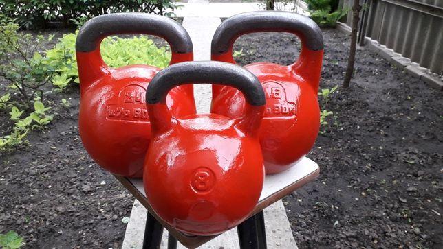 Советские спортивные чугунные гири 8кг, 16 кг, 24кг, 32кг