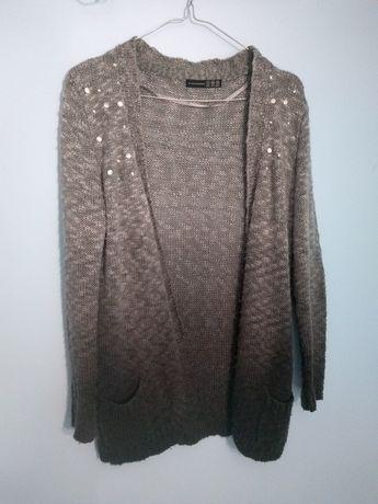 Sweterek kardigan ombre