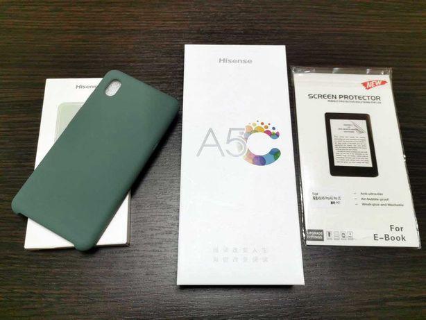 Цветной E-ink смартфон Hisense A5C 4/64. С Google сервисами