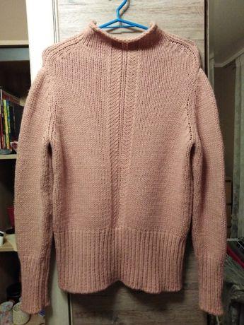 mega ciepły sweter Benetton