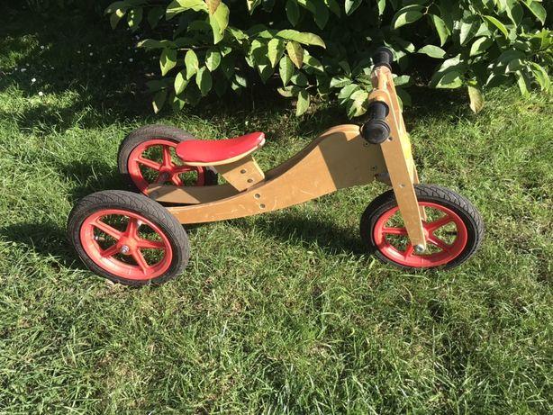 Rowerek biegowy Geuether 2w1 trójkołowy