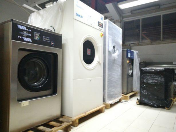 Aluguer de Máquinas de lavandaria Novas e Usadas