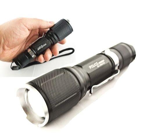 МОЩНЫЙ тактический ручной фонарь Police BL-1860-T6 50000W