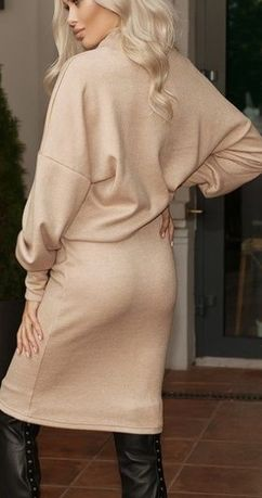 Теплое платье женское. Осень/зима Трикотаж ангора.Есть размеры