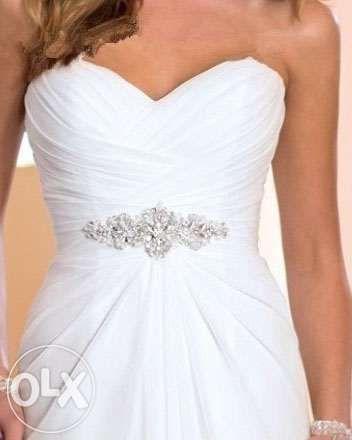 suknia ślubna dekolt serce wesele cywilny 34 36s 38m 40l 42 44 46 xxxl