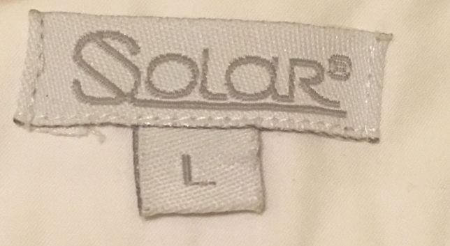 SOLAR koszula biała L 40 na guziczki uzywana bluzka