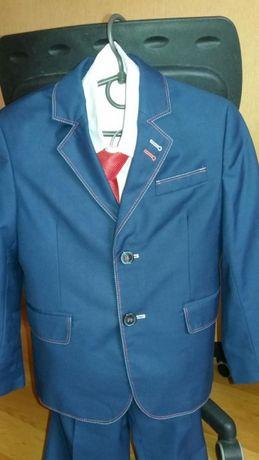 Школьный костюм VELS на мальчика с рубашкой и галстуком