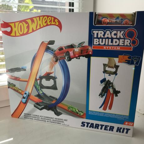 Многовариантный переносной трек Hot Wheels Track Builder Starter Kit
