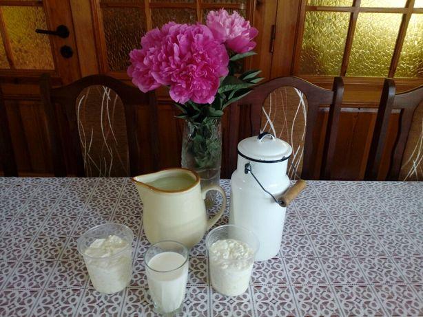 Wiejskie mleko ser serwatka