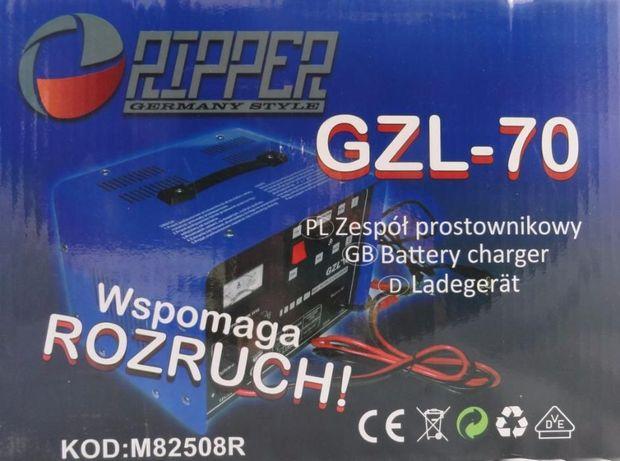 Prostownik GZL70 z funkcją szybkiego ładowania z rozruchem 12/24V NOWA