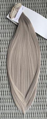 Włosy doczepiane, popielaty blond, clip in, 16 klipsów ( 99 )