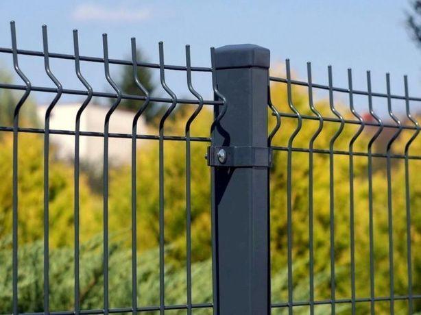 Kompletne ogrodzenie panelowe 4mm 173 oc+ral deska 20cm