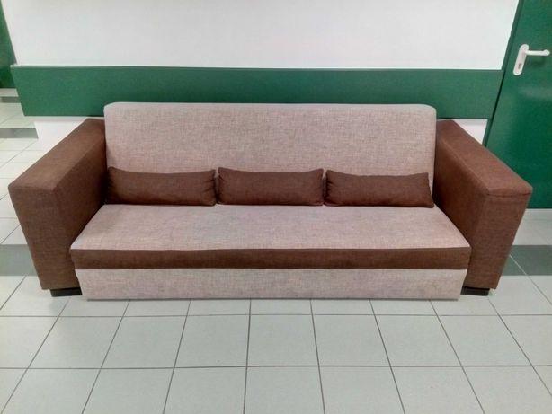 Komplet Kanapa + fotele w bardzo dobrym stanie LUBLIN