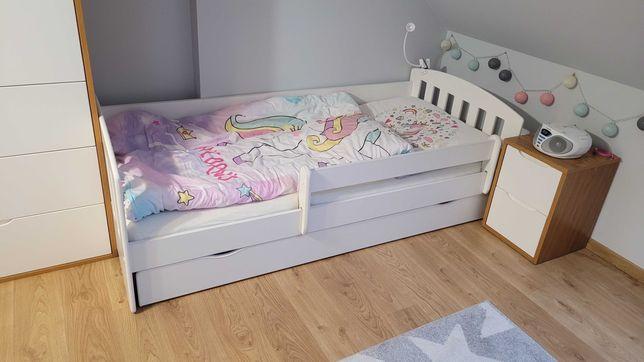 Łóżko dziecięce z barierką 160x80
