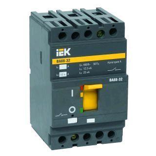 Выключатель автоматический ВА88-32, 3Р 32А 25кА, IeK
