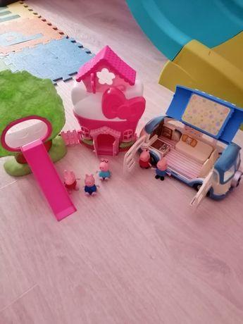 Домик и машинка Свинки Пеппы