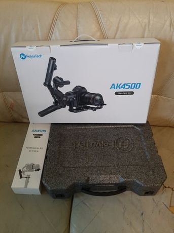 Gimbal FeiyuTech AK4500 Standard Kit do aparatów i kamer pilot f-focus