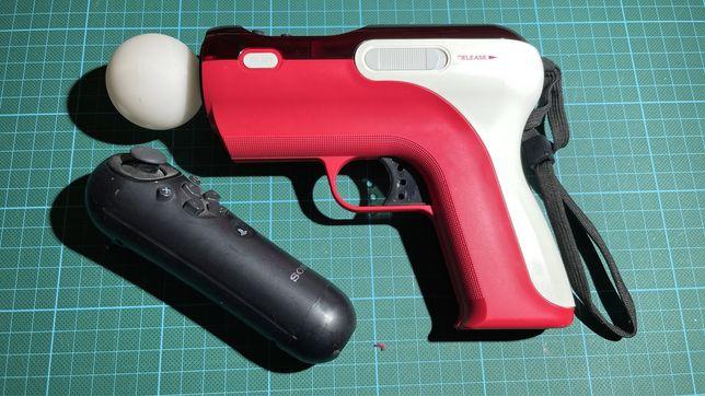PS4 comandos move + Pistola