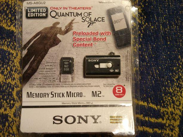 OKAZJA ! NOWA oryginalna karta pamięci SONY 8GB Memory Stick Micro M2!
