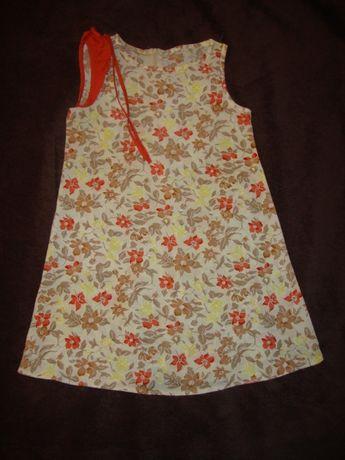 Платье летнее на рост 104см Б/У