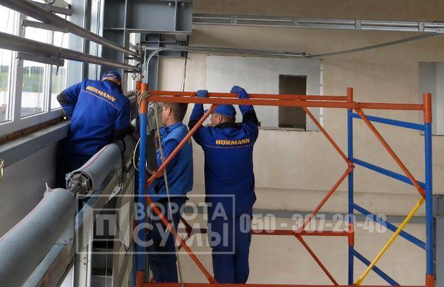 Ремонт, сервисное обслуживание, монтаж различных ворот и автоматики