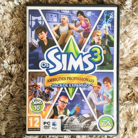 Jogo PC/Mac - Os Sims 3 Ambições Profissionais, Pack De Expansão