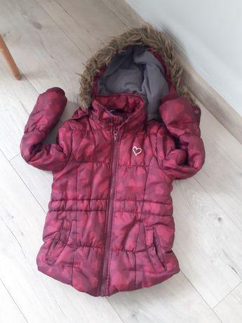 kurtka na zimę dla dziewczynki