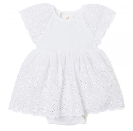 Платье, Hm, боди, нарядное, белое, новое, next, zara
