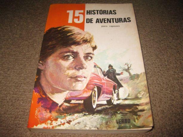 """Livro """"15 História de Aventura para Rapazes"""""""