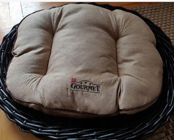 wiklina lozeczko poduszka legowisko psa kota nowy gourmet wiklinowe