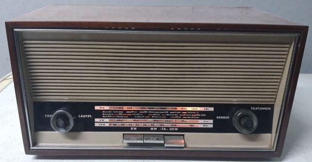 Telefunken Jubilate 1651 Ke Rádio a válvulas