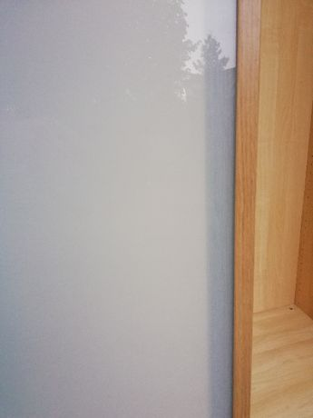 drzwi do szafy PAX z IKEA orzech szkło matowe 229x50, 2 sztuki