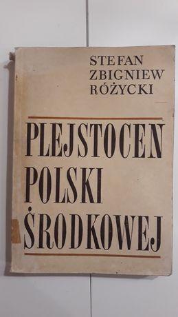 Plejstocen Polski środkowej Różycki 1972