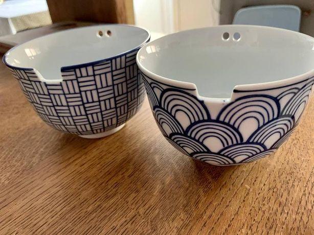 """Пиала"""" BUTLERS с отверстиями для китайских палочек и другая посуда"""