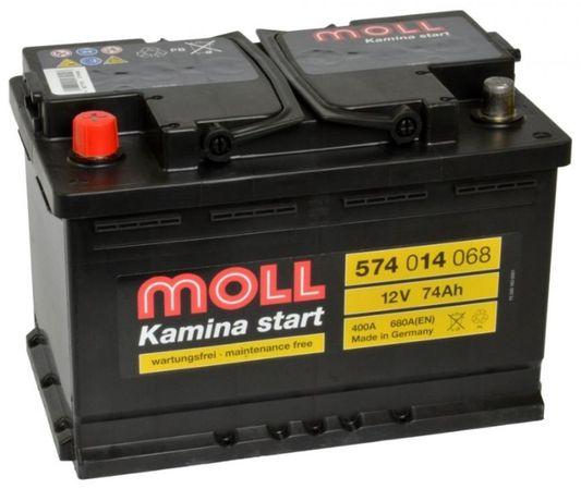 Akumulator 12V 74Ah 680A L+ Kamina start