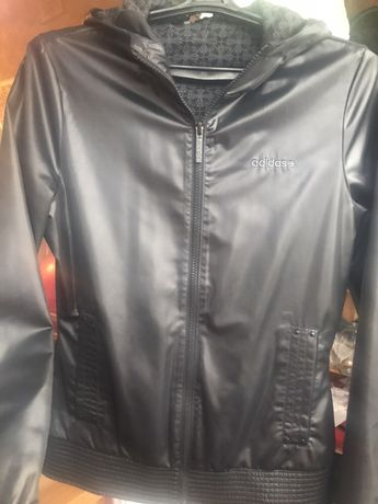 Куртка ветровка adidas женская