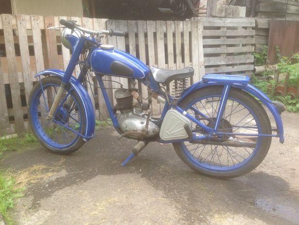 Мотоцикл 1955року К125м.
