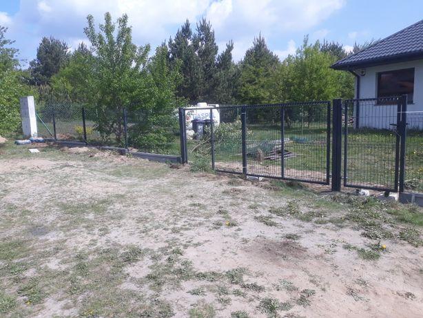 Panel ogrodzeniowy montaz paneli ogrodzeniowych