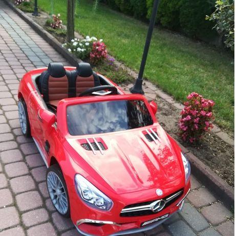 JAREX Samochód ELEKTRYCZNY Mercedes na akumulator auto dla dzieci