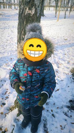 Куртка комбинезон детский