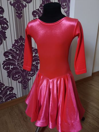 Бальное платье (бейсик) рост 122