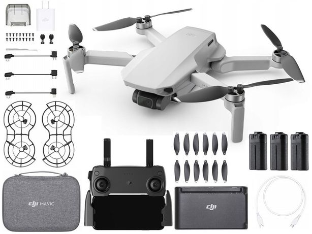 Dron DJI Mavic Mini Fly More Combo Akcesoria 12MP 30min   SKLEP FV23%