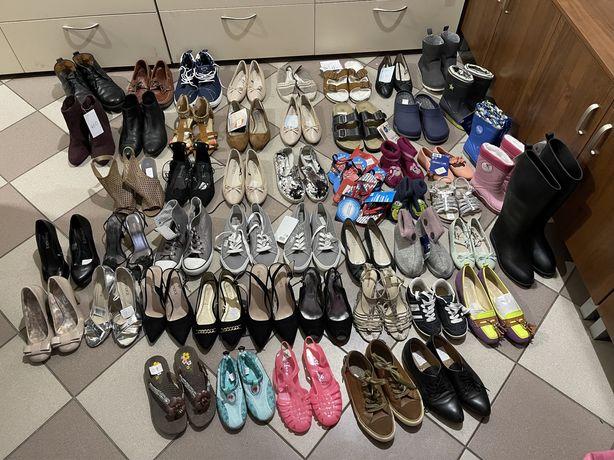 Обувь сток !75 грн пара!!!Всего 52 пары!Только оптом!