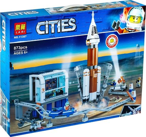 Конструктор Lari 11387 Ракета для запуска Аналог Lego 60228