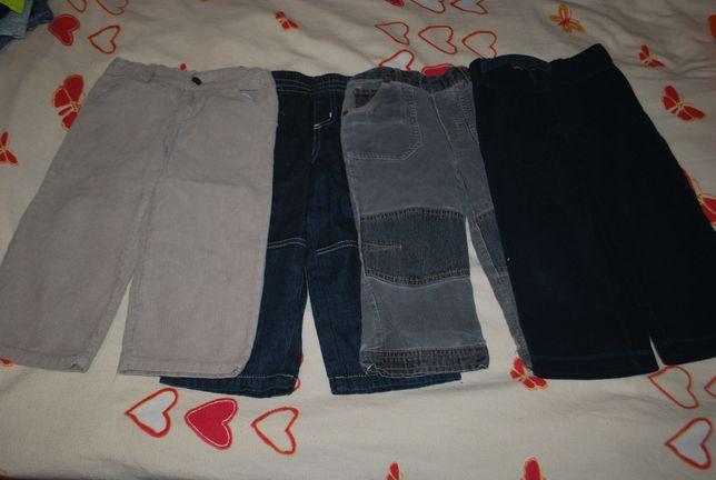 spodnie dla chłopca 80 - 86 cm