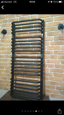 полотенцесушитель черный рушникосушка водян электрич