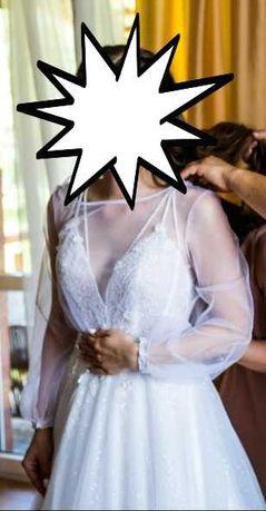 Bolerko/ Narzutka ślubna