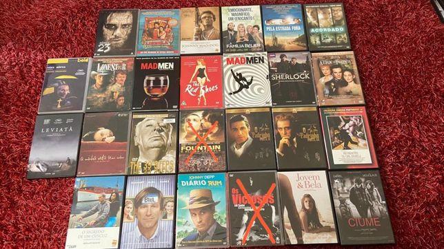 Filmes e séries em DVD e blu-ray originais