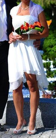 Sukienka ślubna boho