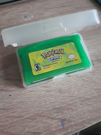 Pokemon Leaf Green Gameboy Advance Nintendo GBA Game Boy